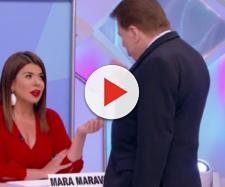 Mara Maravilha foi despedida por Silvio