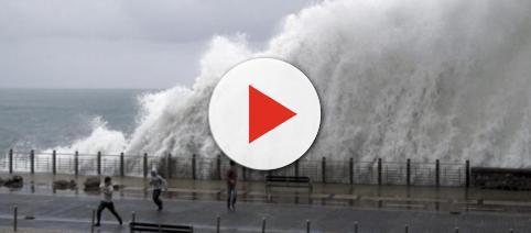 Fuerte temporal azota el norte de Galicia