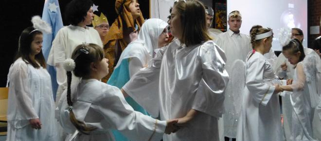 'Gdy Pan Jezus się narodził' - spektakl na podstawie poezji ks.Józefa Ślazyka