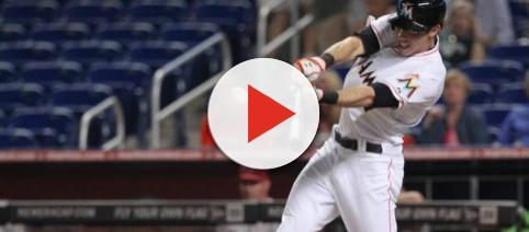 Christian Yelich wants out of Miami. [Image via Alex D'Amico/YouTube]