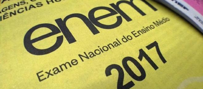 Notas do ENEM 2017 foram divulgadas e já podem ser consultadas