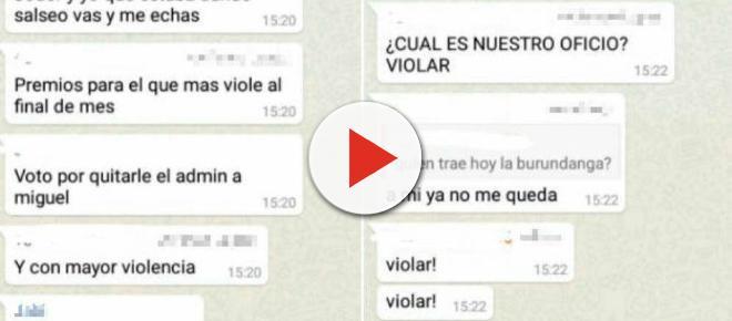 Denuncia a un grupo de WhatsApp por querer cometer una nueva 'manada'