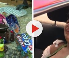 A bebê de oito meses estava entre as vítimas e morreu no local do acidente que ocorreu em Copacabana no Rio de Janeiro.