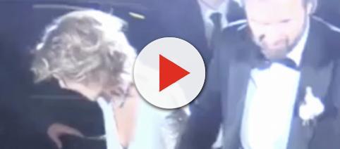 L'incidente sexy della sposa di Carlo Cracco