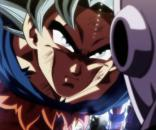 Goku en su enfrentamiento con Jiren