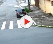 Em SP, homem agarra mulher, a coloca em veículo e comete abuso em plena luz do dia; vídeo