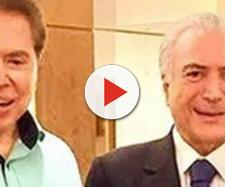 Silvio Santos entrevistou o presidente Temer