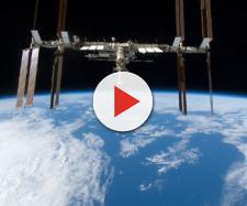 UFO avvistato dalla Stazione Spaziale Internazionale.