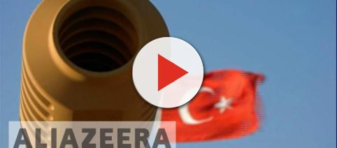 Picture of Turkish army Tank gun. - [Al Jazeera Channel / YouTube screencap]