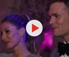 Gisele Bundchen and Tom Brady attend a fashion event (Image Credit: Vogue/YouTube)
