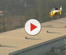 Uma pessoa foi encaminhada para o hospital ainda com vida (Foto: Captura de vídeo)