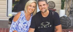 Ryan Edwards poses with wife Mackenzie. [Photo via Instagram]