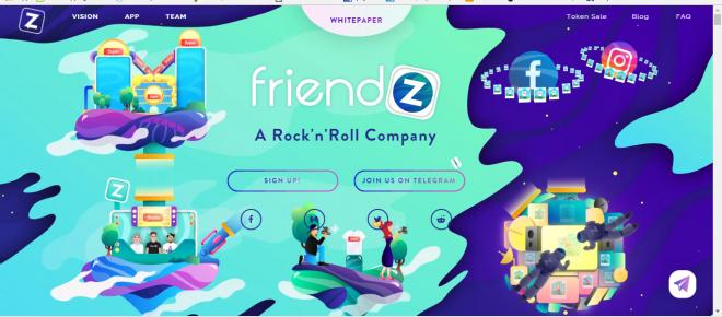 A breve la nuova cryptovaluta di Friendz the app