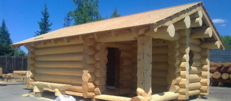 Milano tronchi ad incastro per la realizzazione di case for Tipi di case in italia