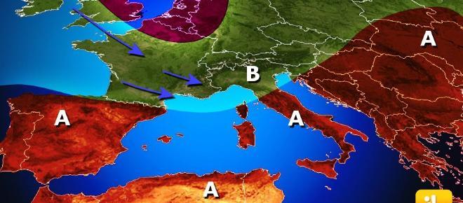 Previsioni Meteo Italia, settimana dall'08 al 14 gennaio '18