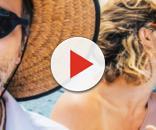 Bruno Gagliasso, Giovanna Ewbank e Léo Fucks fizeram passeio de barco por Fernando de Noronha