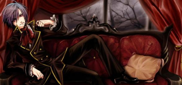 The Vampires as popular characters of anime