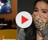 Neymar se revolta ao ver cena picante de Bruna: 'Sem beijos'