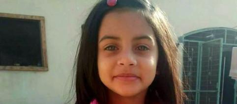 A photo of six-year-old Zainab who was raped and killed in Pakistan.