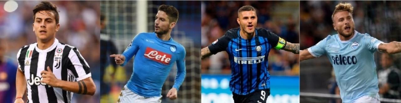 Serie A 2017/2018: soltanto l'Inter in scia al 'ciclone Napoli' e la prossima giornata prevede lo scontro diretto!
