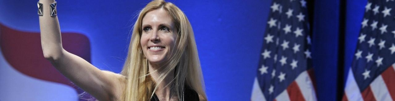 Ann Hart Coulter is an American conservative social and political commentator, writer, syndicated columnist, and lawyer.