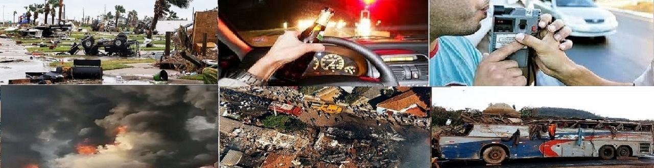 Acidente é notícia: a negligência é uma das maiores causas de acidente.