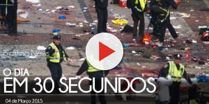 O dia em 30 segundos - 04 de Março 2015