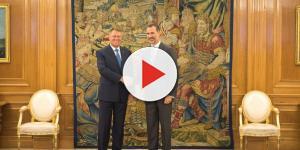 Klaus Iohannis primit de Regele Spaniei