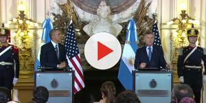 Vídeo: Visita del presidente Obama a la Casa Rosada en Buenos Aires, conferencia de Obama y Macri