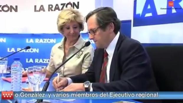 El presidente de 'La Razón' implicado en la operación Hanta