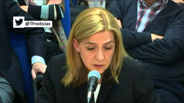 Vídeo: La Infanta Cristina recibe una pésima noticia  que le trastoca el verano
