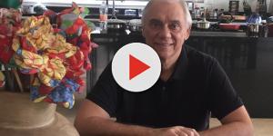 Marcelo Rezende fala abertamente de sua doença e fala do próprio enterro