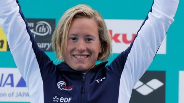 Natation : Aurélie Muller et Marc-Antoine Olivier champions du monde !