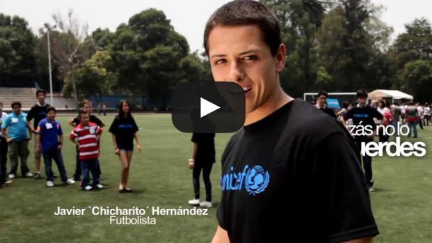 Chicharito terminará su contrato en 2018