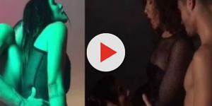 Em vídeo, Cléo Pires simula sexo a três e o que mostra surpreende