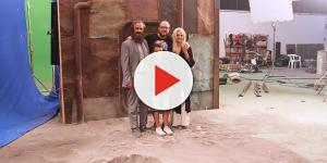 Nos colamos en el rodaje de 'En las estrellas', de Zoe Berriatúa