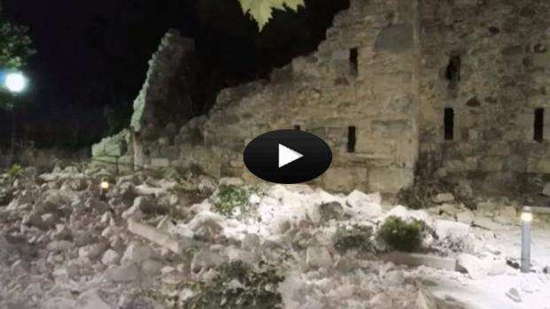 VIDEO: Terremoto di magnitudo 6.7 in mare: 2 morti e oltre 100 i feriti