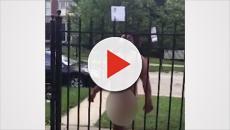 Homem corta o próprio pênis e sai correndo pelas ruas do bairro; veja o vídeo