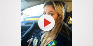 'Policial mais sexy do mundo' arrasa na web com fotos sensuais; veja