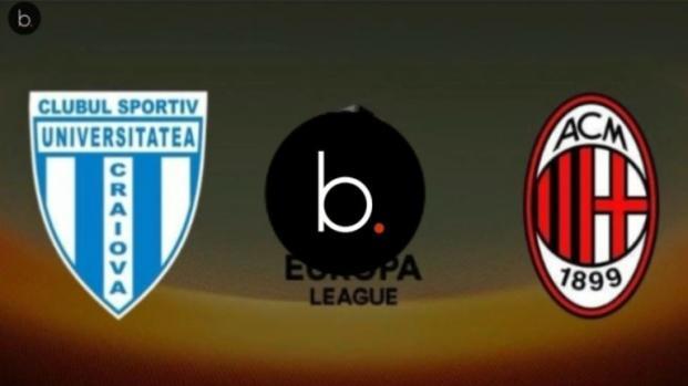 Video: Craiova-Milan: grosse sorprese nella formazione, dove vedere il match