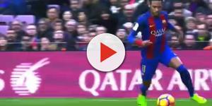 Lionel Messi saluda a Neymar en Internet