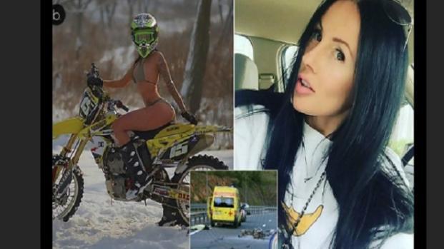 VIDEO: Muore la 'regina della moto' e star di Instagram schiantandosi