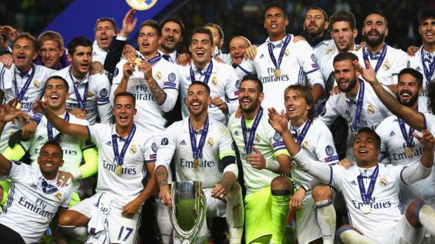 Real Madrid Supercampeón de Europa 2017