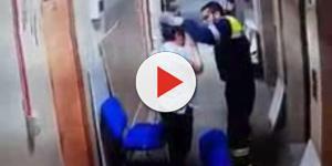Vídeo mostra ação inacreditável de paramédico contra uma grávida
