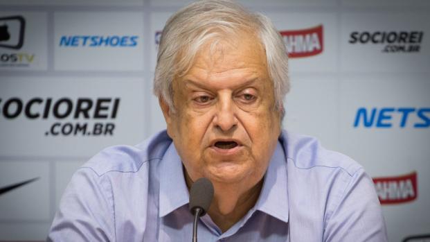 Presidente do Santos é punido por acusar repórter sem provas