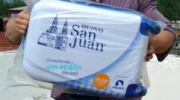 Huevo San Juan regalará maletas a viajeros