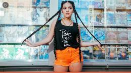 Marcelina de 'Carrossel' cresceu e faz ensaio irreconhecível inspirado em Anitta
