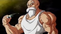 Dragon Ball Super 105 El Maestro Roshi se sacrifica por Goku
