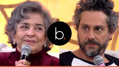 Assista: Atores se desentendem e discutem feio em programa da Globo