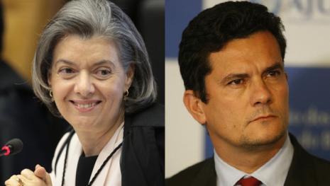Discordância no STF: conversa de Cármen Lúcia com Moro causa conflito